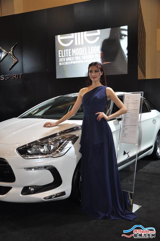 第三届东部沿海国际车展部分美女车模照片 盐